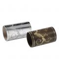 DC069 Tubi in ottone con marcatura circolare laser