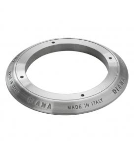 DC071 Ghiera in alluminio incisa senza smalto