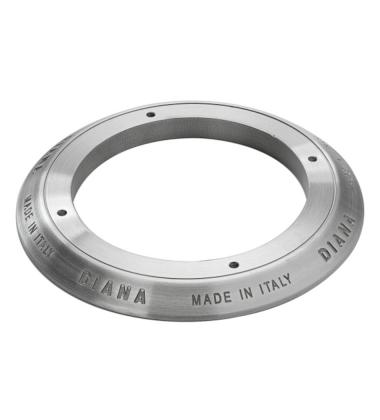 DC070 Ghiera in alluminio incisa senza smalto